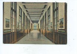 La Louvière Institut St Jospeh Corridor D'Entrée  ( Timbre Exposition Charleroi 1911 Au Dos De La CP ) - La Louvière
