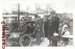 PHOTOGRAPHIE ANCIENNE COURSE AUTOMOBILE VOITURE CABRIOLET PILOTE PARIS TACOT CAR - Automobili