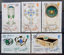 MAN -- IVERT 388/92 - USADOS - ARCHIBALD KNOX - PINTOR - Isle Of Man