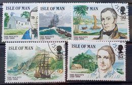 MAN -- IVERT 397/01 - USADOS - 2º CENT. DEL AMOTINAMIENTO DE LA BOUNTY - BARCOS - Isle Of Man