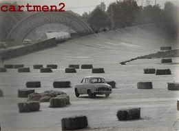 PHOTOGRAPHIE ANCIENNE COURSE AUTOMOBILE 24H DU MANS RALLYE FORMULE 1 CIRCUIT SPORT AUTO - Automobili
