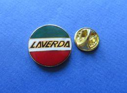 Pin's,MOTO,LAVERDA, ITALY,LOGO - Motorfietsen