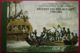 MAN -- IVERT C397 - NUEVOS * * - 2º CENT. DEL AMOTINAMIENTO DE LA BOUNTY - CARNET VER 9 FOTOS - Isle Of Man
