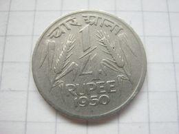 India , 1/4 Rupee 1950 - Inde