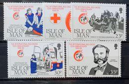 MAN -- IVERT 415/19 - NUEVOS* * - 125 ANIV. CRUZ ROJA - Isle Of Man