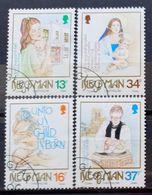 MAN -- IVERT 415/19 - USADOS - NAVIDAD 1989 - Isle Of Man