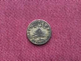 LIBAN Monnaie De 2 Piastres 1925 - Líbano