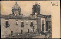 MAZZARINO (CALTANISSETTA) - PIAZZA DEL CARMINE 1916 - Caltanissetta