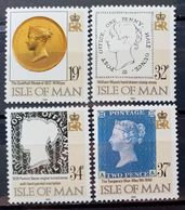 MAN -- IVERT 461/64 - NUEVOS - 150 ANIV. DEL PRIMER SELLO - Isle Of Man