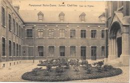 Jumet NA85: Chef-Lieu. Pensionnat De Notre-Dame. Cour De L'Eglise 1925 - Charleroi
