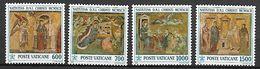 VATICAN     -   1992 .  Y&T N° 937 à 940 **.  Noël.   Mosaïques - Vatican