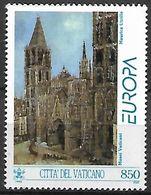 VATICAN     -   1993 .  Y&T N° 960 **.   EUROPA   /   Cathédrale De Rouen  /  Utrillo. - Vatican