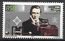 VATICAN     -   1995 .  Y&T N° 1005 **.   Marconi   /  Radio. - Vatican