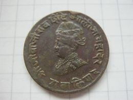 India , Gwalior , 1/4 Anna 1929 - Inde