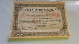 LES TAPIS DE COGOLIN (1928) VAR - Unclassified