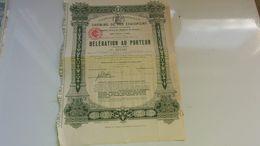 Compagnie Imperiale Des Chemins De Fer éthiopiens (1910) - Ohne Zuordnung