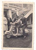 2 Photo - Moto Scooter Vespa 1954 - Sport