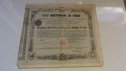 ETAT INDEPENDANT DU CONGO (1888) - Actions & Titres