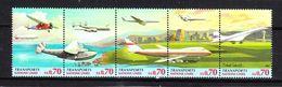 ONU  Genève  - 1997. Storia Aviazione. Aerei, Dirigibile, Concorde. Aviation History. Aircraft, Airship, Concorde. MNH - Vliegtuigen