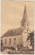 Houthem (Vilvoorde) - Kerk - Geanimeerd - Uitg. Ern. Thill, Brussel - Kaart Uit Een Boekje - Kirchen U. Kathedralen