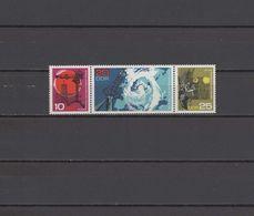 DDR 1968 Space Meteorology Set Of 3 MNH - Raumfahrt