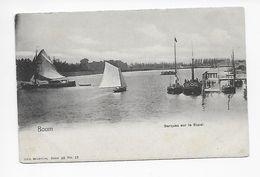 Boom   Barques Sur Le Rupel - Boom