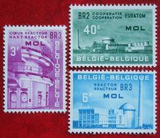 EUROTOM OBC N° 1195-1197 (Mi 1255-1257) 1961 POSTFRIS MNH ** BELGIE BELGIEN / BELGIUM - Belgium