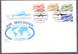 1993. Moldova, Air-mail  Post II, 4v, Mint/** - Moldawien (Moldau)