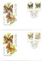 1993. Moldova, Butterflies, FDC,  Mint/** - Moldawien (Moldau)