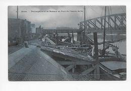 7. - Boom     -  Déchargements De Bateaux Au Pont Du Chemein De Fer  1913 - Boom