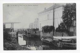 4  -  BOOM    Le Pont-Levis Du Chantier Maritime  1907  SBP - Boom