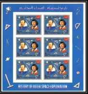 Yemen Royaume (kingdom) - 4122/ N°861 B Kepler Copernic Copernicus Neuf ** MNH History Of Outer Space Non Dentelé IMPERF - Raumfahrt