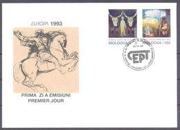 1993. Moldova, Europa 1993, FDC, Mint/** - Moldawien (Moldau)
