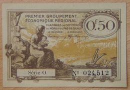 NORD Et PAS-DE-CALAIS ( 59 - 62  ) 50 Centimes Chambre De Commerce  1925 Série O - Chamber Of Commerce