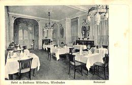 "Wiesbaden - Hotel U. Badhaus Wilhelma - Restaurant (""Urania"") - Wiesbaden"
