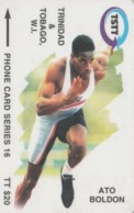 Trinidad & Tobago, 179CTTB, Ato Boldon, Sport,  2 Scans. - Trinité & Tobago