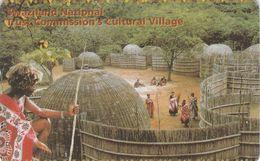 Swaziland, SZ-SWT-0010, Cultural Village,  2 Scans. - Swaziland