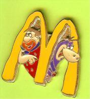 Pin's BD Mac Do McDonald's Les Pierrafeu Fred Caillou Dino - 5A06 - McDonald's