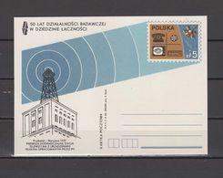 Poland 1984 Space Commemorative Postcard - Covers & Documents