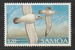 SAMOA - N°703 **  (1989)  20 $ - Oiseaux - Samoa