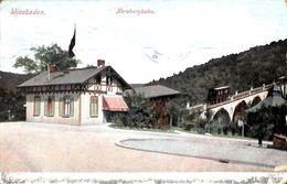 Wiesbaden - Nerobergbahn (animation, Colors, Carl V. D. Boogaart 1909) - Wiesbaden