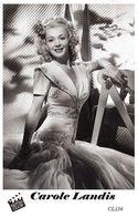 CAROLE LANDIS (PB36) - Film Star Pin Up PHOTO POSTCARD - Pandora Box Edition Year 2007 - Femmes Célèbres