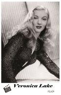 VERONICA LAKE (PB29) - Film Star Pin Up PHOTO POSTCARD - Pandora Box Edition Year 2007 - Femmes Célèbres