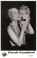 CAROLE LOMBARD (PB10) - Film Star Pin Up PHOTO POSTCARD - Pandora Box Edition Year 2007 - Femmes Célèbres
