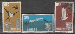 TAIWAN (Formose) - N°434/6 ** (1963) Oiseaux - Neufs