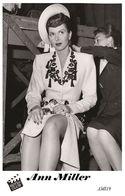 ANN MILLER (PB19) - Film Star Pin Up PHOTO POSTCARD - Pandora Box Edition Year 2007 - Femmes Célèbres