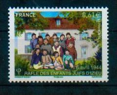 France 2014 - 1944, Rafle Des Enfants Juifs D'Izieux / 1944, Roundup Of Jewish Children In Izieux - MNH - WW2 (II Guerra Mundial)