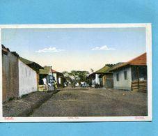 GUINEE BISSAU-una Rua-beau Plan Plan Animé  -années 20 - Guinea-Bissau