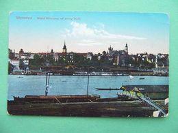 Russian Poland 1910th WARSAW, Warszawa. Widok Od Strony Visly. Russian Postcard. - Pologne