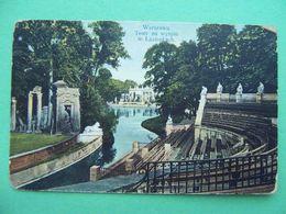 Russian Poland 1910th WARSAW, Warszawa. Teatr Na Wyspie W Lazienkach. Russian Postcard. - Pologne